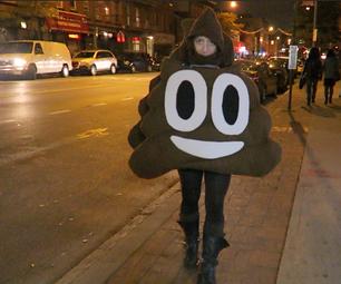 Emoji Poo Costume