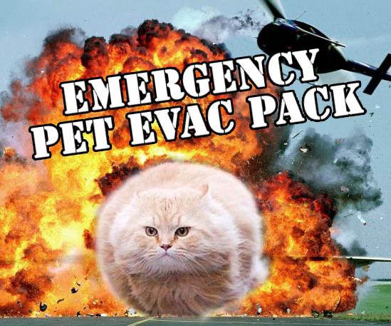 Emergency Pet Evacuation Pack