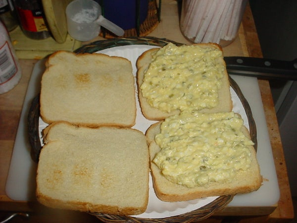 Making Egg Salad My Way