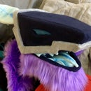 How to Make a Robot/synth Style Costume/ Fursuit Head