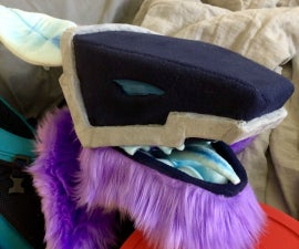 How to Easily Make a Robot/synth Style Fursuit Head