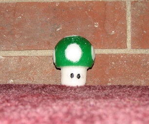 1up Mario Candle