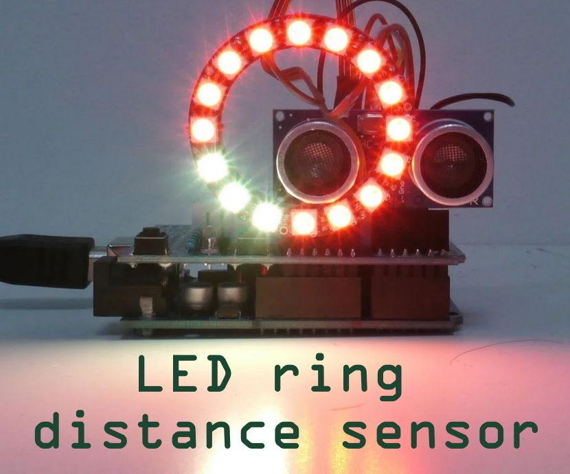 LED Ring Distance Sensor