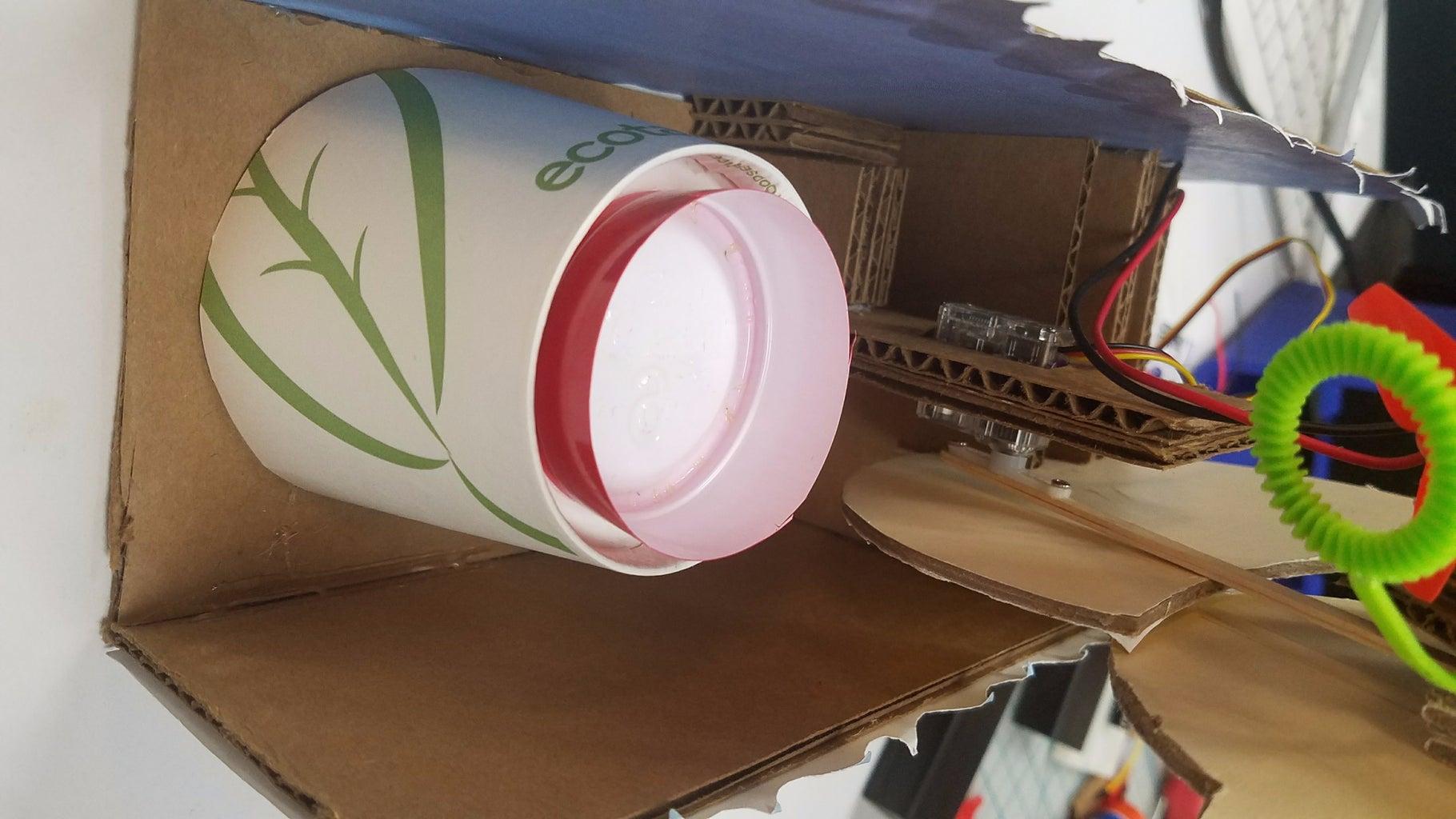 Install Bubble Blower Dish