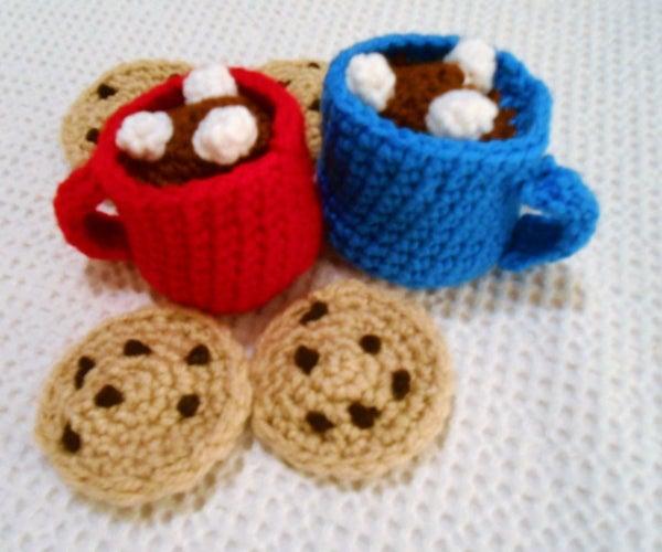 Cozy Crocheted Mug of Hot Chocolate