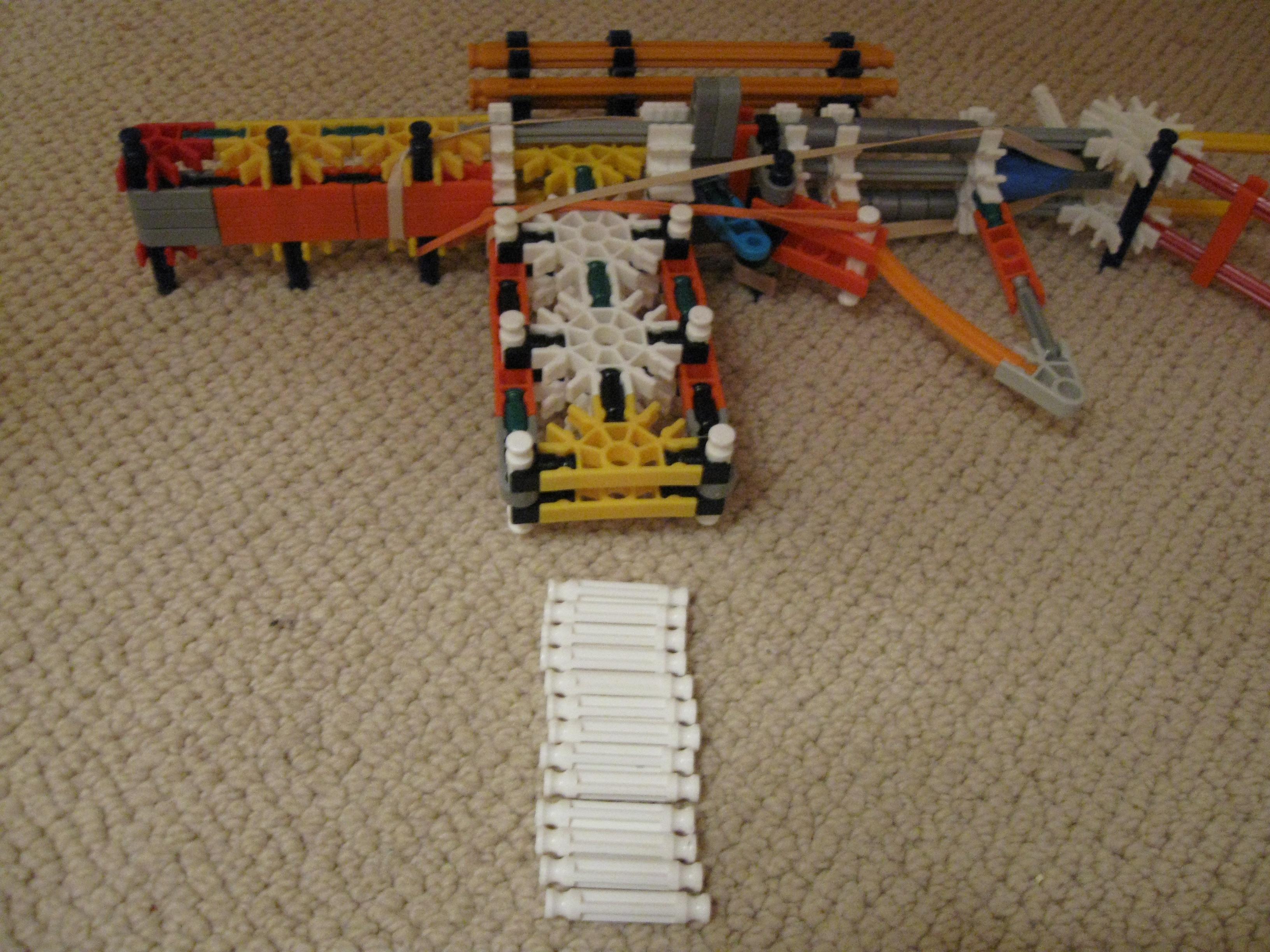 Knex Small Assault Rifle