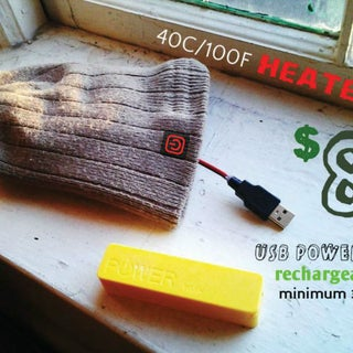 DIY Carbon Heated Beanie