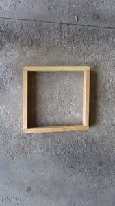Cut the 2 X 4's for the Frame