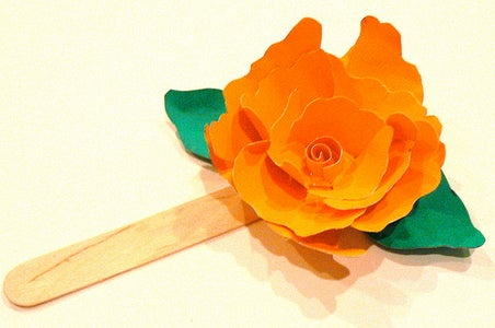 Paper Flower Bookmark