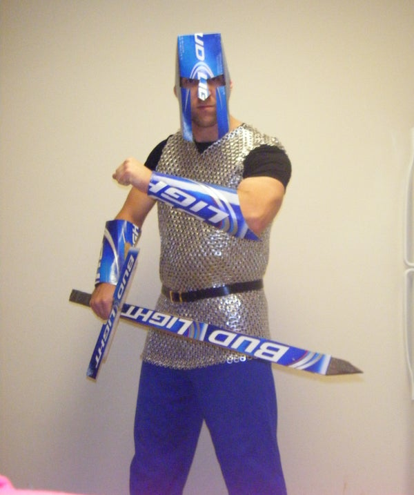 Becoming the Bud Light Knight