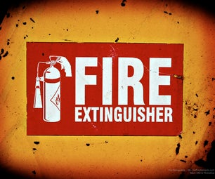 Build Your Own Fire Extinguisher From Things Around Your House