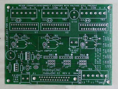 Assemble HobbyCNC EZ Stepper Controller Board Kit