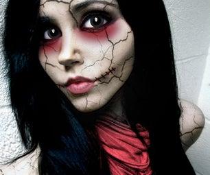 """Doll Face"" Halloween Photo Tutorial"