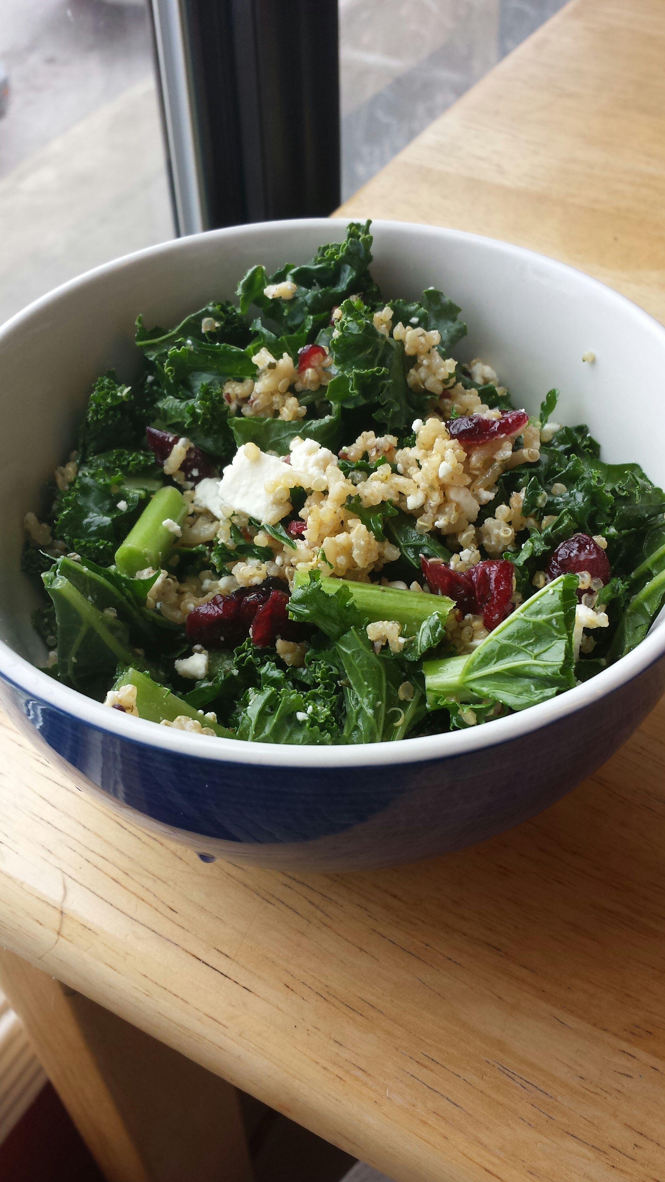Kale and Quinoa Salad