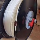 Spool Holder and Marble Stopper (3D Printer)