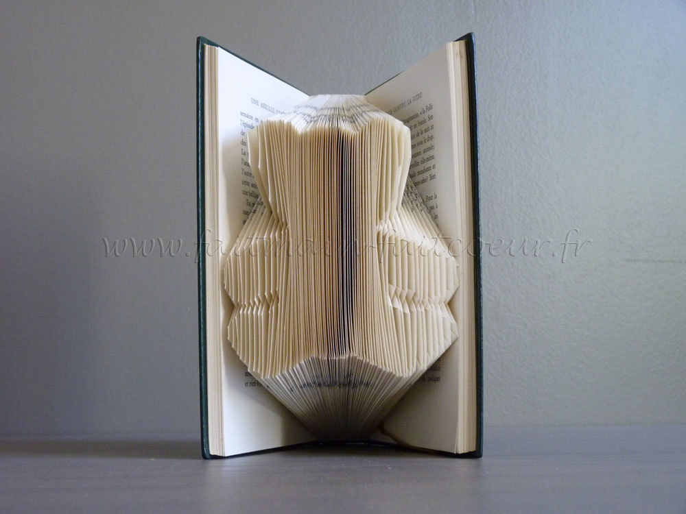 How to Fold a Book into a Word - The original tuto