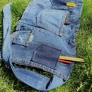 Garden Apron From Old Jeans