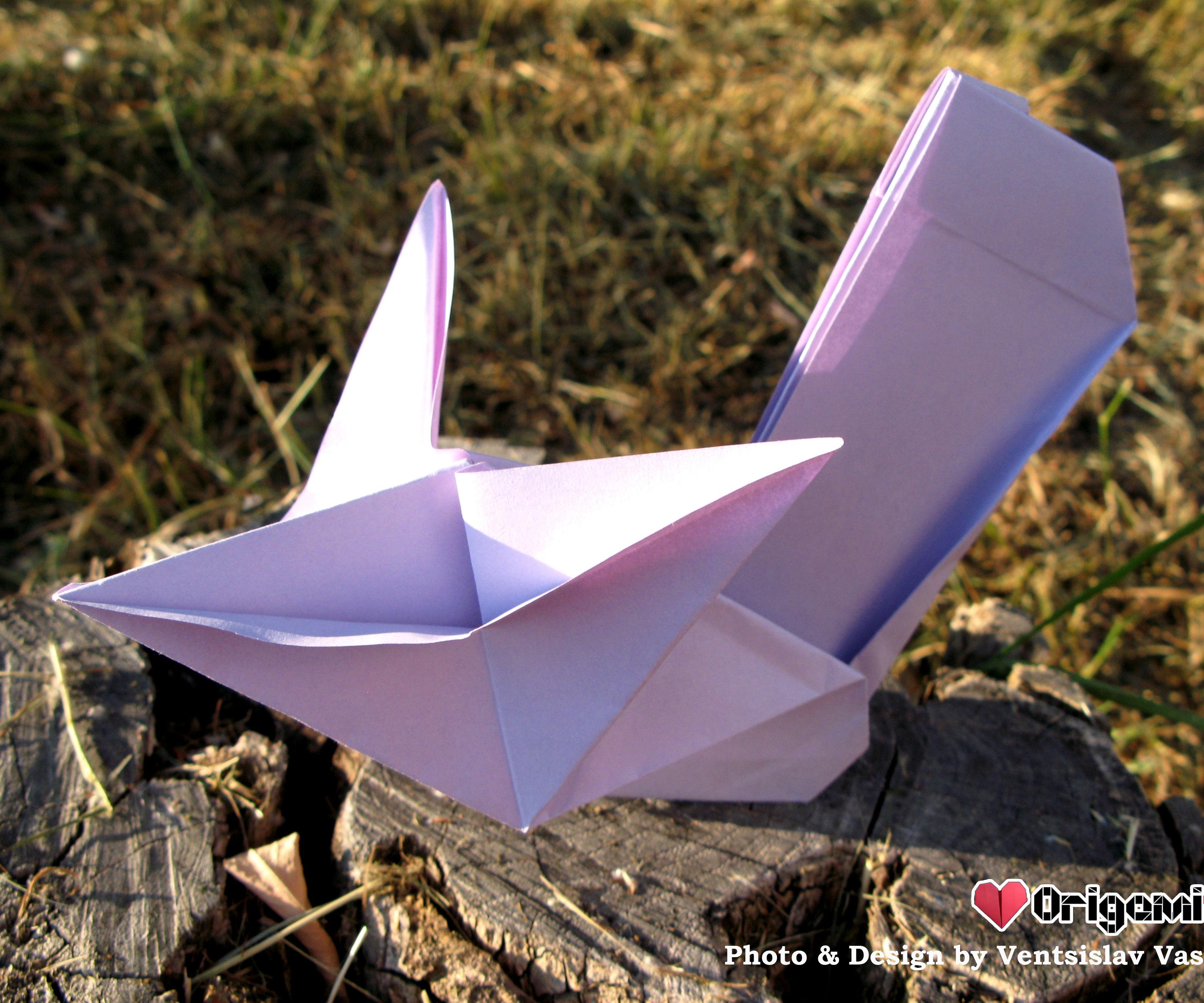 Printing Paper Origami Squirrel