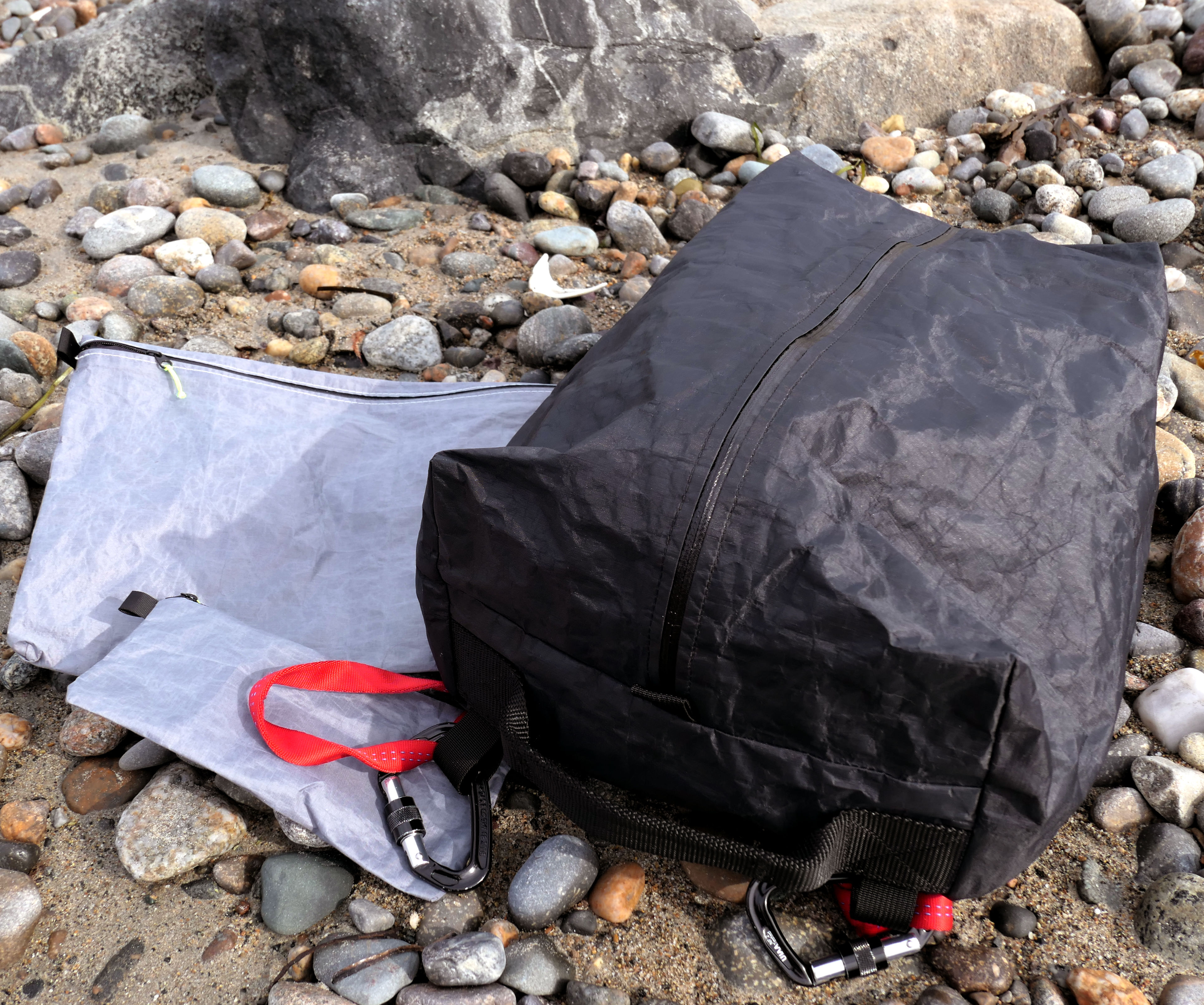 Tough, Lightweight and Waterproof Gear Bags From Dyneema and Tyvek
