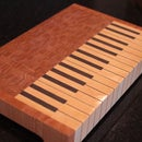 Piano End Grain Cutting Board