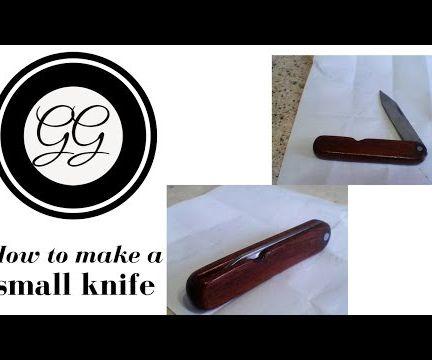 Small Pocket Knife