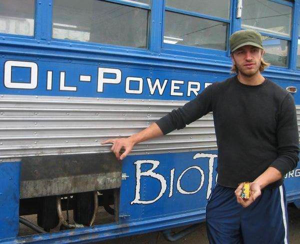 Waste Vegetable Oil Conversion for Diesel Bus