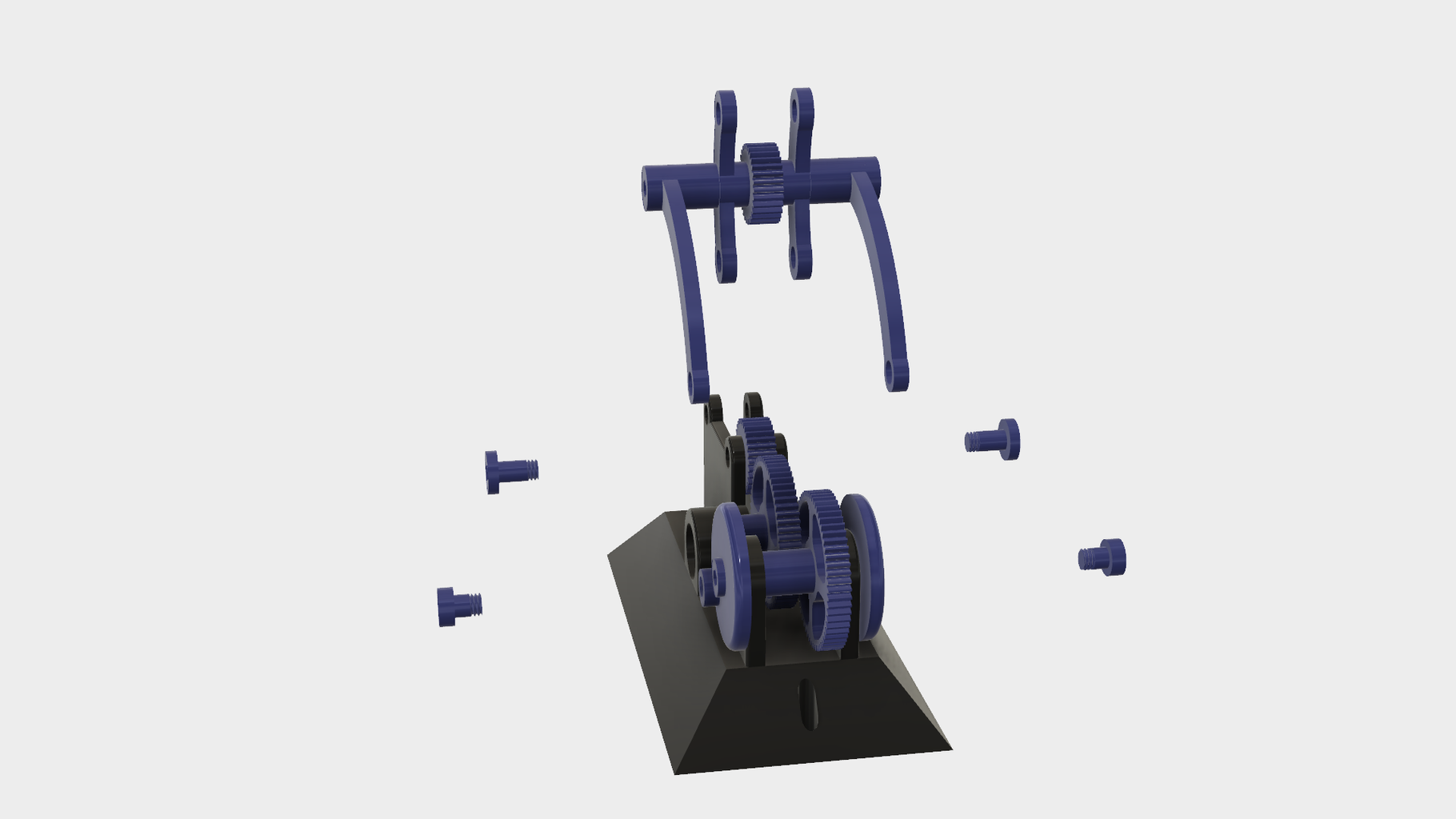 Attach the Transmission to the Base