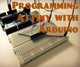 Program ATtiny Chips With Arduino