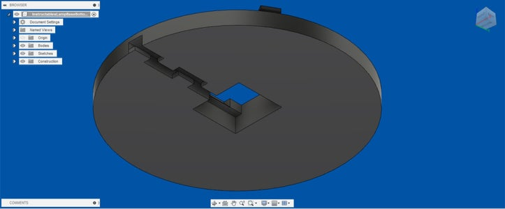 Designing the Base: Adding the Plug Tunnel