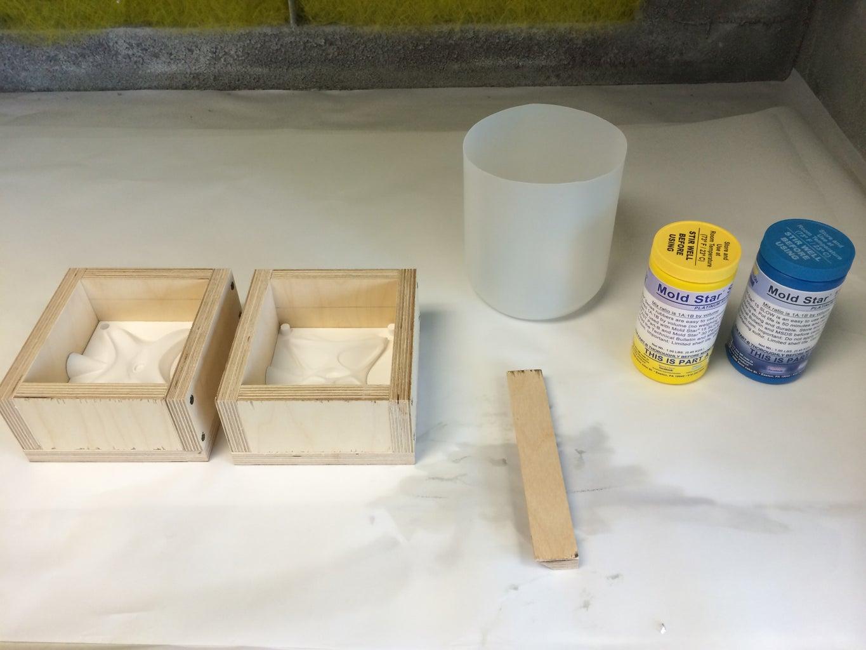Pour Silicone Molds & Wait