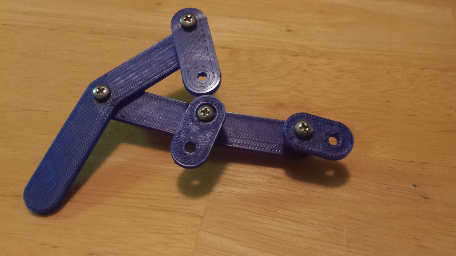 Linkage Assembly: Attach Gear and Crank