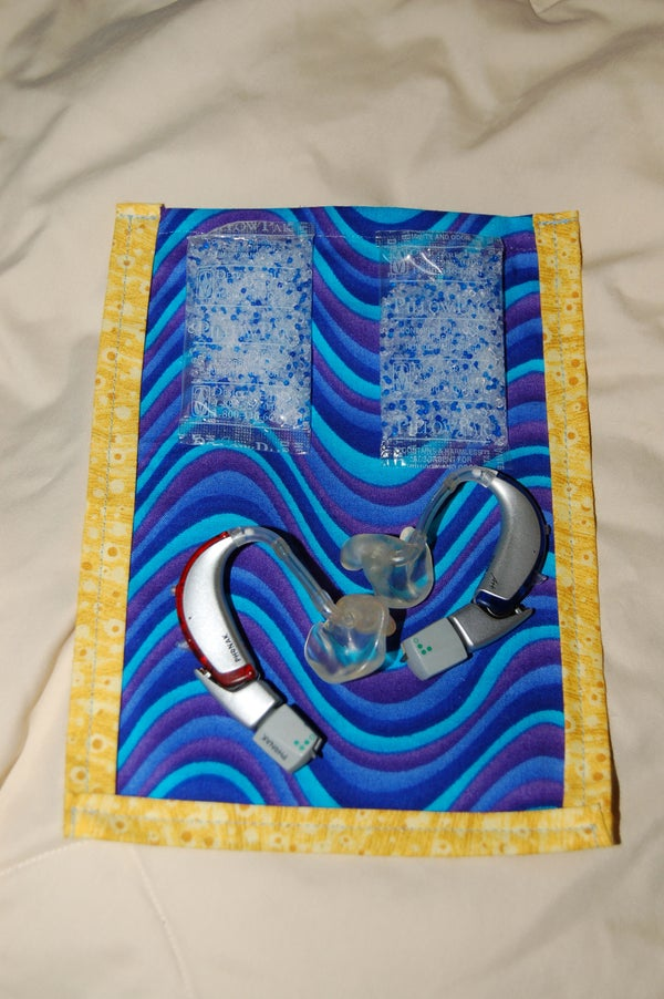 Airtight Waterproof Hearing Aid Dryer (or, Really, for Any Other Small Items)