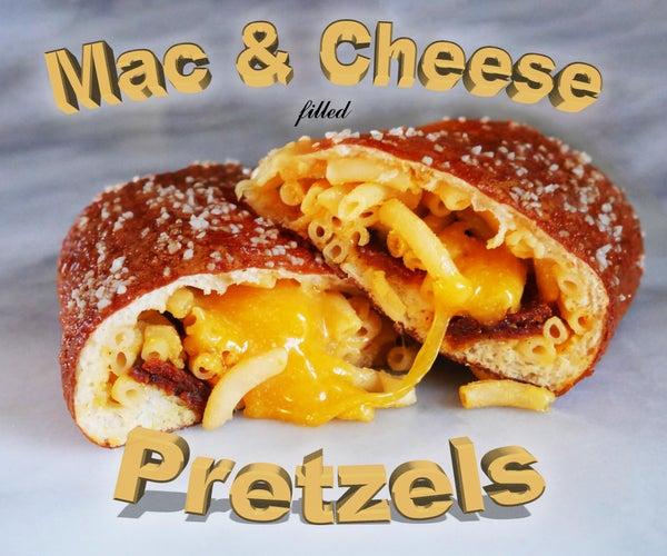 Box Mac & Cheese Stuffed Pretzels