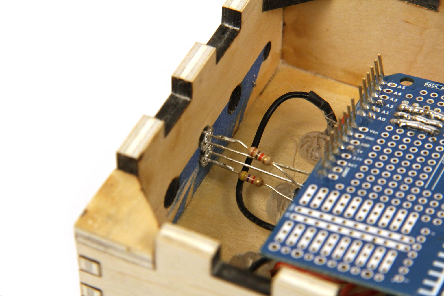 Mount and Wire LEDs