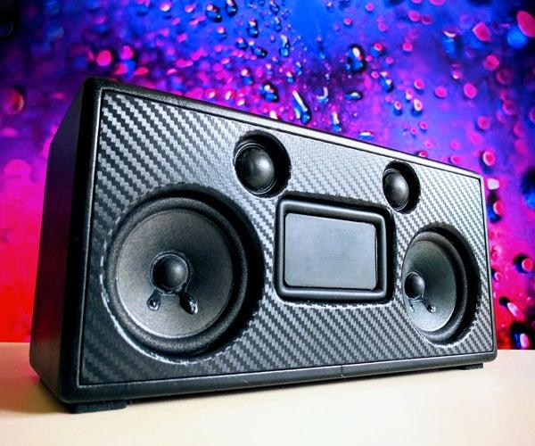 Portable Bluetooth Speaker | Carbon Black
