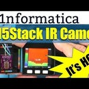 M5Stack IR Thermal Camera Using AMG8833 Infrared Array Imaging Sensor