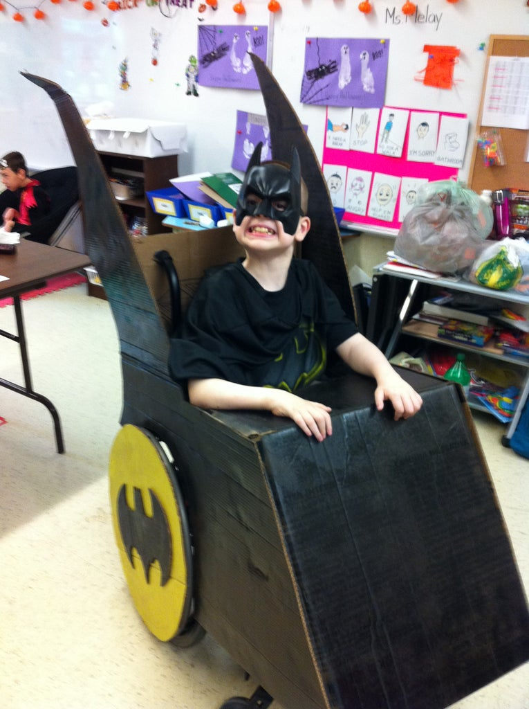 Wheelchair Batmobile Costume