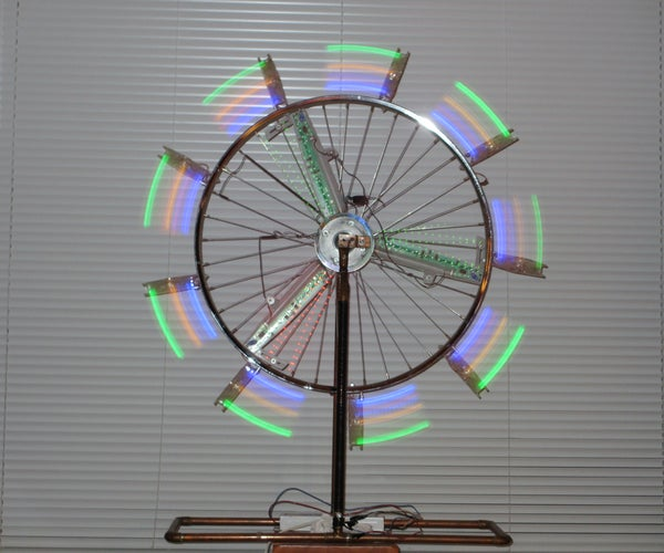 This Is the Prime Mover (a Bicycle Wheel Powered by Computer Case Fans)