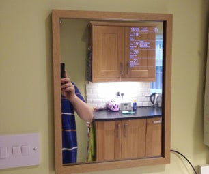 Android Motion Sensing Smart Mirror