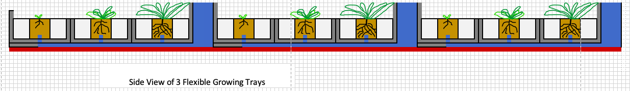 ISS Plant Growing Cylinder