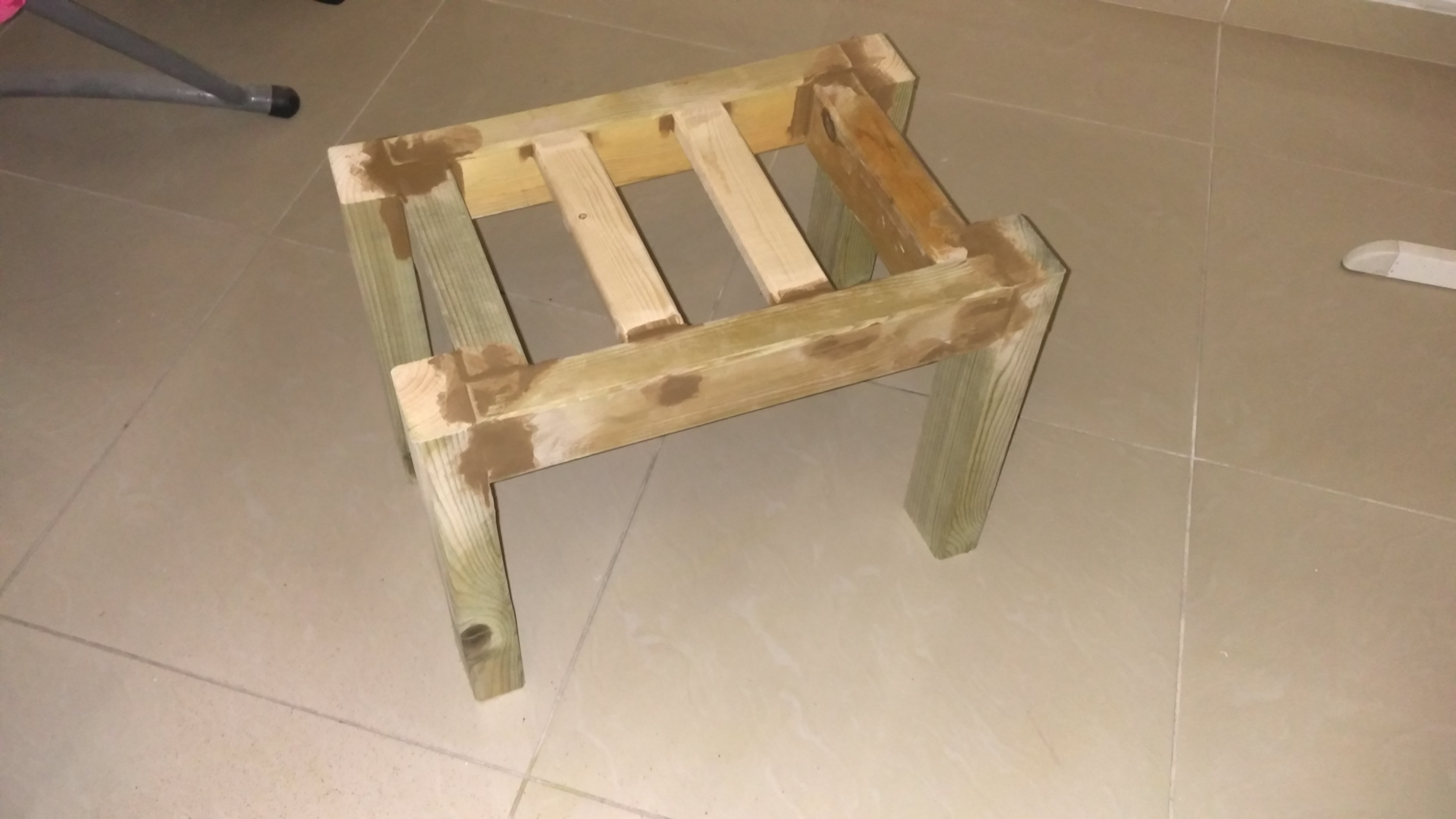 Picture of: Bathroom Bench 7 Steps With Pictures Instructables
