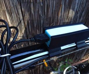 Sleek Bicycle Frame Powerbank