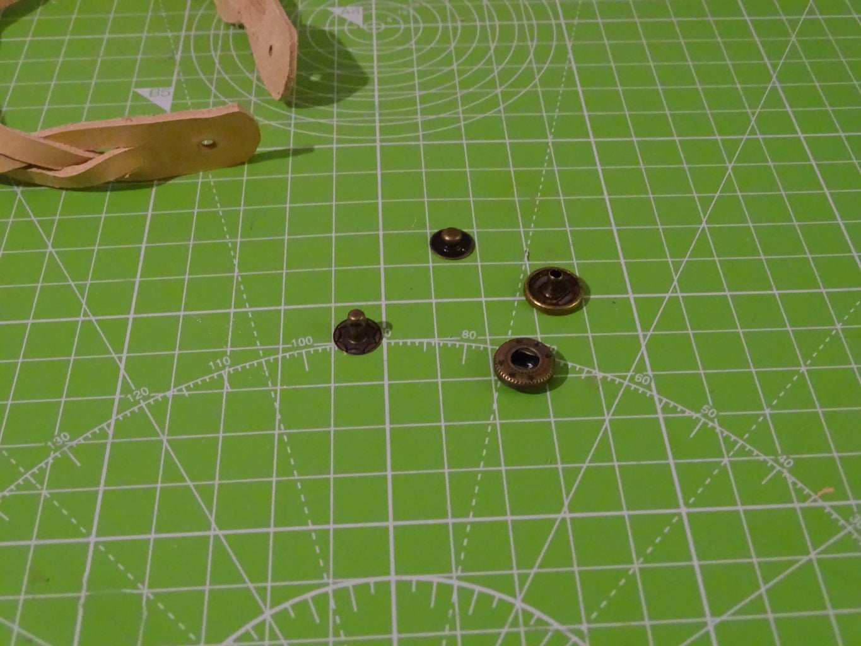 Step 7: Set the Snaps ( Press Studs)