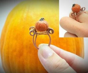 Pumpkin Ring : Fall Jewelry