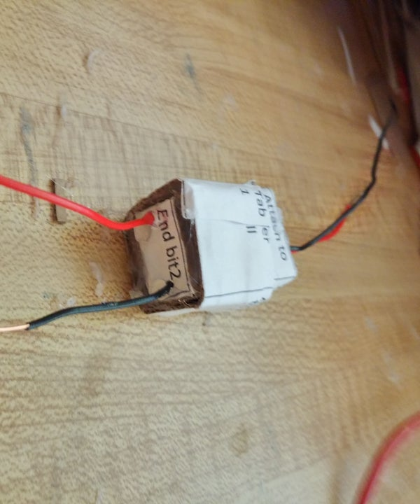 Easy-to-make Cardboard Connector