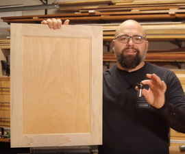 Easy Cabinet Doors Made on the Router Table