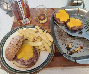 Best BBQ Burger and Fries