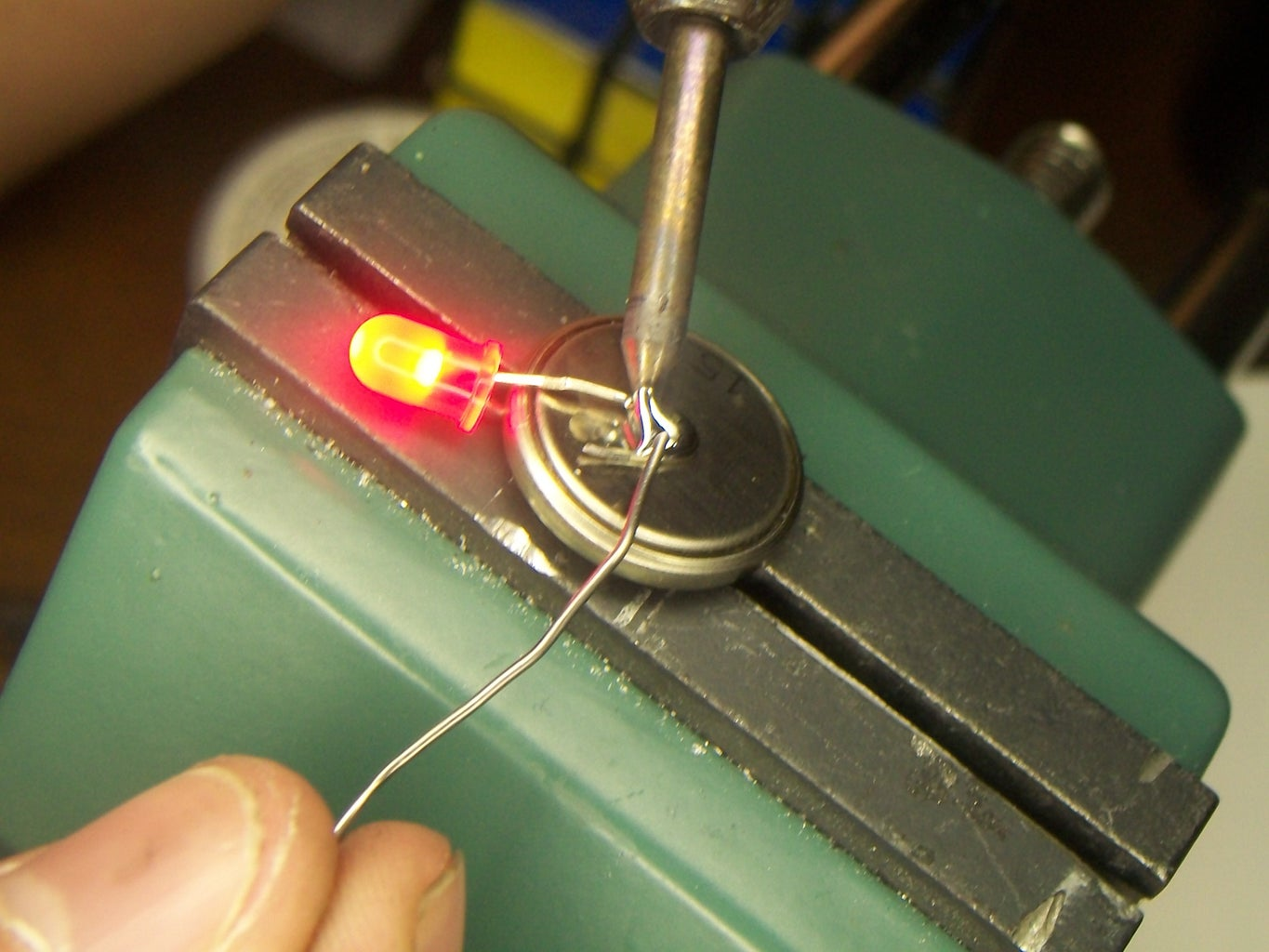 Making Cannon Safe LED Throwies