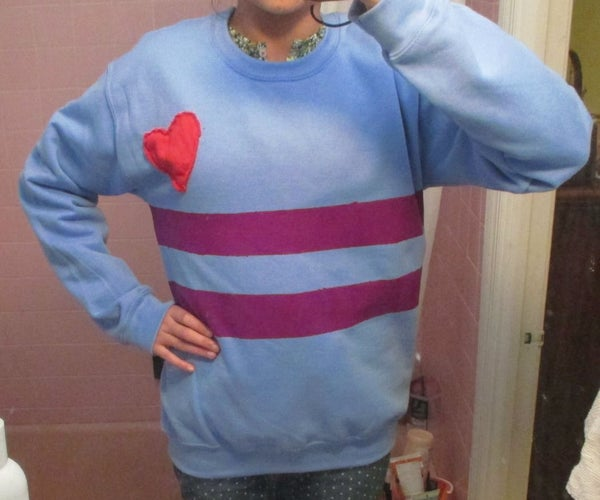 DIY Undertale Frisk Cosplay (without Knitting)