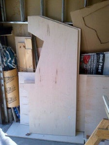 Cut Out the Two Side Walls
